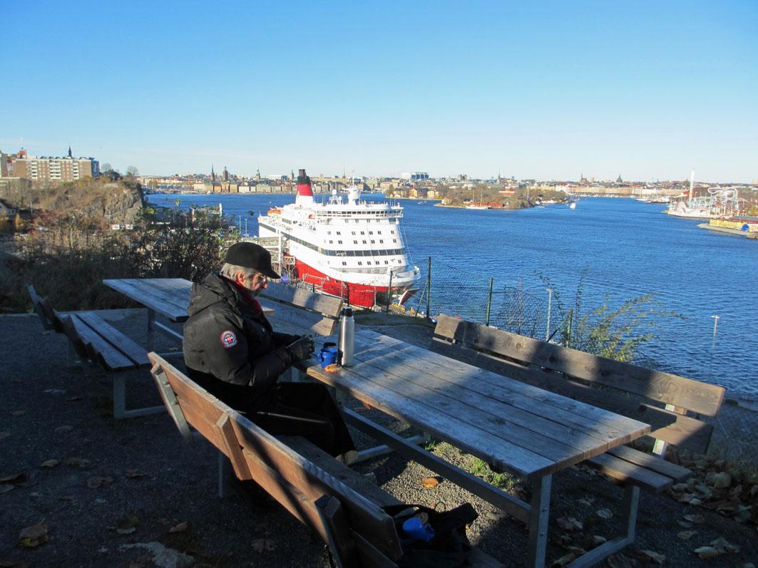 rök ledsagare vattensporter i Stockholm