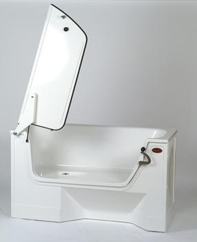 badkar med dörr se
